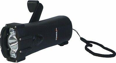 PowerPlus Shark Waterproof Dynamo LED-Taschenlampe / Ladegerät ()