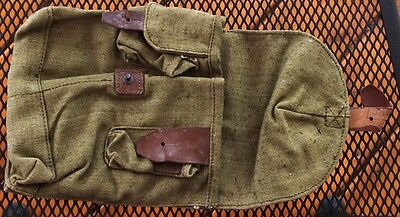 ROMANIAN 7.62x39 2 CELL CANVAS MAGAZINE POUCH BAG
