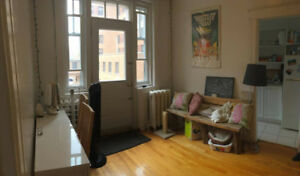 BEAUTIFUL BEDROOM AVAILABLE FOR AUGUST IN 4 1/2 NEAR MCGILL