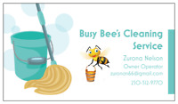 Busy Bee's cleaning service. Serving Trail B.C. and all surround