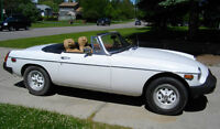 Powerful MGB Convertible Sports Car. PASSED FULL INSPECTION.
