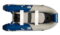 11 ft INFLATABLE DINGHY w AIR DECK FLOOR