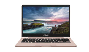 "ASUS ZenBook 13.3"" Laptop - Rose Gold - Used: Great Condition"