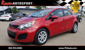 CERTIFIED 2014 KIA RIO HB LX - LOADED - HTD SEATS-92K- YORKTON