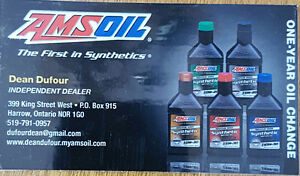AMSOIL- The First In Synthetics