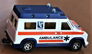 Majorette Ambulance and Cars