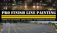 Parking Lot Line Painting - Crack Sealing - Asphalt Sealing
