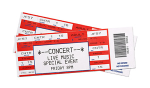 2 General Admission Tickets Kelso Beach Blues Fest