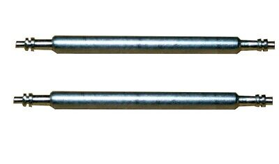 Federsteg Federstift Uhrensteg Stegbreite 15mm (Gesamtlänge 18mm) 2 Stück (0098) (Stift Feder)