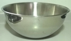 Heavy Duty Stainless Steel 16 inch Mixing Bowl 6 1/4 inches deep