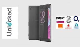 Unlocked SONY Xperia XA - 16 GB, Black - New