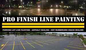 Parking Lot Line Painting - Hot Rubberized Crack Sealing  Cambridge Kitchener Area image 7