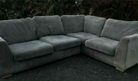 Grey sofas scs £230 can deliver