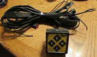 SNOW PLOW CONTROLLER TOUCH PAD