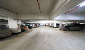 Downtown underground parking  spots available (1 remaining)
