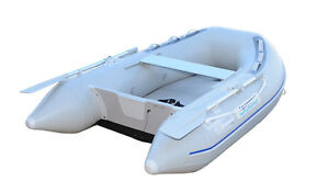 7.5  inflatable boat with  AIR DECK  INFLATABLE FLOOR