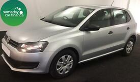 ONLY £132.81 PER MONTH SILVER 2014 VW POLO 1.2 S 5 DOOR PETROL MANUAL