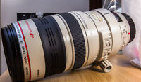 Canon 100-400mm L telephoto lens