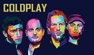 4×COLDPLAY