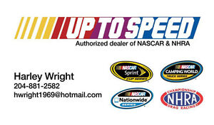 Up To Speed - Authorized NASCAR and NHRA dealer