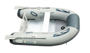 New 7.5ft inflatable boat /dinghy with aluminum floor Aquamarine