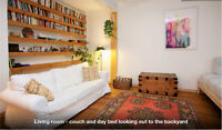 Superbe maison meublé/Beautiful furnished Mile End home