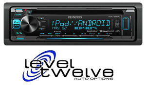 Kenwood head Units Single and Double Din Receivers