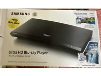 Samsung 4K Ultra HD Blu-ray Player (UBD-M9000) Brand New