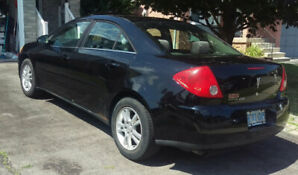 2005 Pontiac G6 CERTIFIED Black with Sunroof & Remote Start