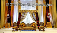 PAKISTANI AND INDIAN STYLE WEDDING BACKDROPS DESIGNED BY MADIHA