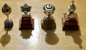 McDonald's Stanley Cup NHL trophies, orr, norris, hart, smythe