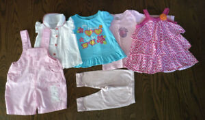 Set of clothes for Baby Girl (12-18 Months)