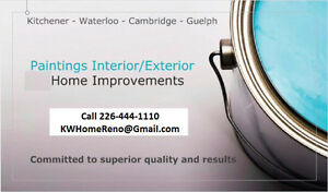 Painters - Walls Ceilings Windows Doors -Call for Free Estimates