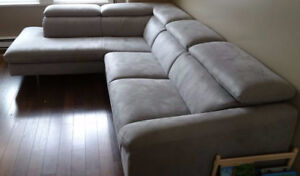 ScanDesign fabric Sectional