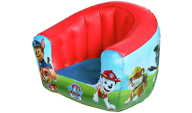 Paw Patrol inflatable kids chairs £5 each. Real Bargains Clearance Out