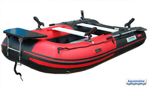 New Aquamarine 11 ft INFLATABLE FISHING BOAT DELUX PACKAGE