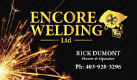 Contract Welder for hire!