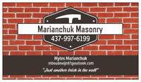 Masonry/small renovations