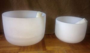 Quartz Crystal Singing Bowls Tibetan Singing Bowls and Gong
