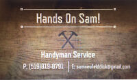 Handyman Service (Cabinet&Countertop Install, removal & repair)