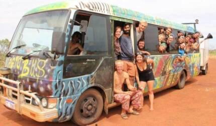 Perth to melbourne  - 6th january - The Magic Bus Australia