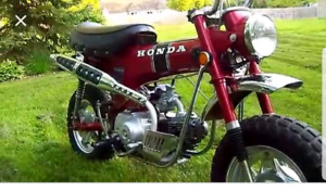 Looking for a Honda Ct 70 or Trail 70