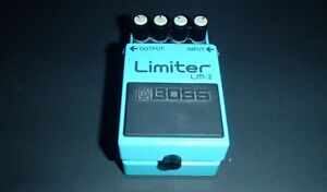 Boss LM-2 Limiter Made in Japan Vintage Guitar Pedal