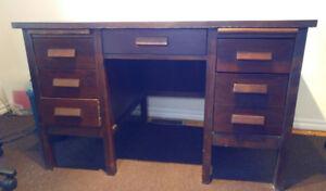 Baronet solid wood desk for sale