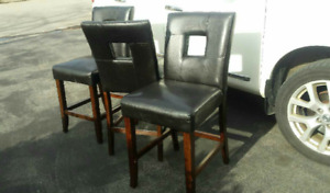3 Modern Dining Chairs ...$150.00