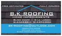 B.K ROOFING & HOME IMPROVEMENTS
