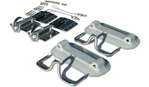 Snap Davits for inflatable boat and swim platform OR transom
