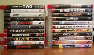 Sony PS3 games