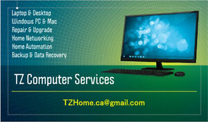 Laptop Desktop Computer Repair & Upgrade