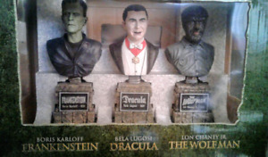 Universal Studios Monsters Legacy  Mini Bust Statues